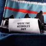 04 patagonia vote the assholes out clothing tag gq september 2020 1